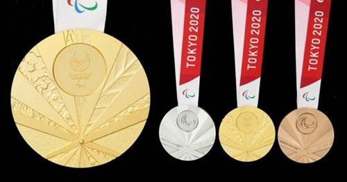 2020東京パラリンピックのメダルが公開された。[写真 2020東京パラリンピック公式ホームページ]