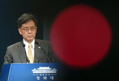 青瓦台(チョンワデ、大統領府)の金鉉宗(キム・ヒョンジョン)国家安保室第2次長