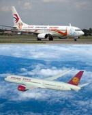 中国東方航空(写真上)、吉祥航空