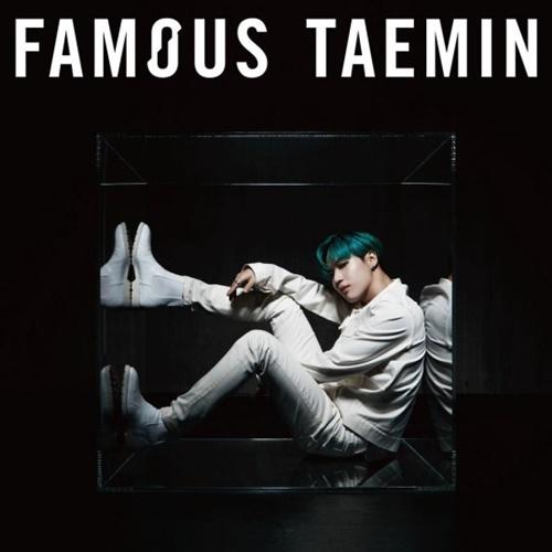 SHINeeテミンの新アルバム『FAMOUS』のジャケット[写真 SMエンターテインメント]
