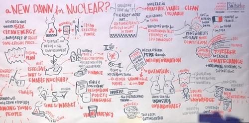 150カ国が一堂に会した世界エネルギー総会で、原子力発電がエネルギー転換の核心だということに大きな異論が出なかった。アブダビ=ムン・ヒチョル記者