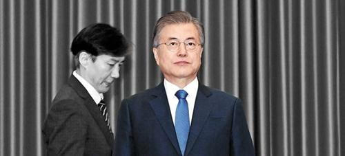 チョ・グク法務部長官、文在寅(ムン・ジェイン)大統領