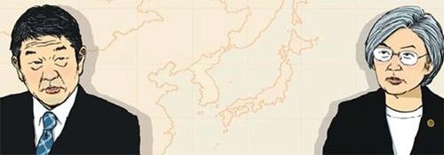 茂木敏充外相、康京和(カン・ギョンファ)外交部長官
