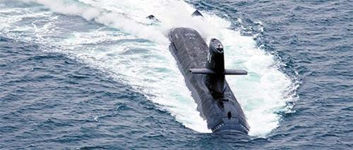 日本の潜水艦そうりゅう [海上自衛隊]
