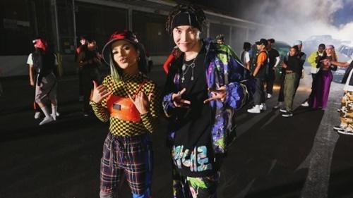 歌手Becky Gと防弾少年団のJ-HOPE