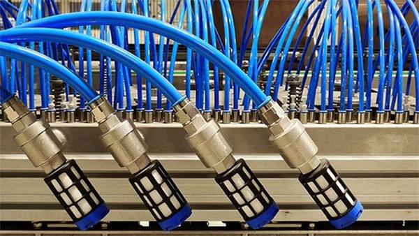 空気圧バルブは自動車、一般機械などに使われる自動化設備の核心部品だ。[写真 WTO]