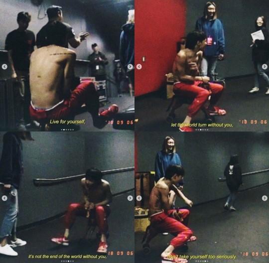 BIGBANGのG-DRAGON[写真 インスタグラム]