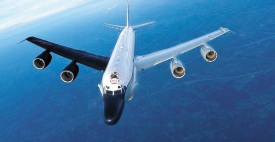 米空軍偵察機「RC-135S」コブラボール[写真 MDAA]