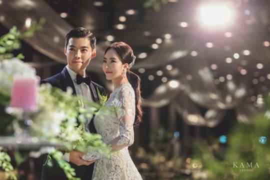 李相花とカンナムの結婚式の写真[写真 ボンブーENT]