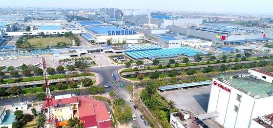 ベトナムのイエンフォン工業団地。サムスン電子など多数の国内企業が進出している。[写真 KOTRA]