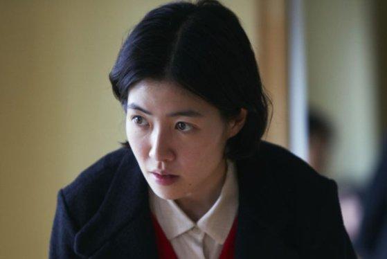 日本映画『新聞記者』に主人公として出演したシム・ウンギョン。[写真 The coup]