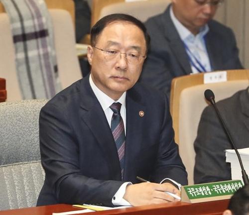 洪楠基・副首相兼企画財政部長官
