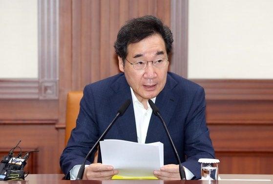 韓国の李洛淵(イ・ナギョン)首相