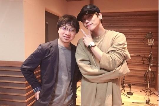 新海誠監督とSHINeeのジョンヒョン