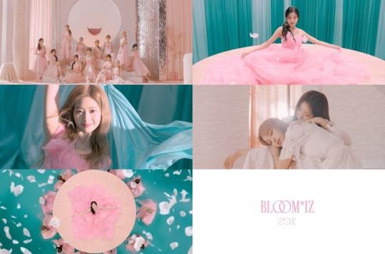IZ*ONEの正規1stアルバム『BLOOM*IZ』予告動画[ユーチューブ キャプチャー]