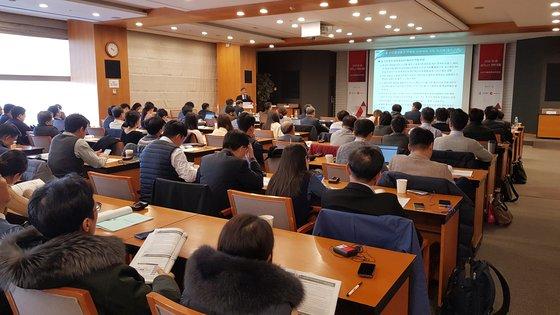 韓国貿易協会とチャイナラボが主催した「2020韓中ビジネス戦略フォーラム」が20日に貿易協会大会議室で開かれた。約200人の聴衆が参加した。チャイナラボ/ハン・ウドク