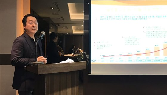 アリババグループのチョン・ヒョングォン韓国総括代表が2019年光棍節期間の韓国製品の活躍像を紹介した。