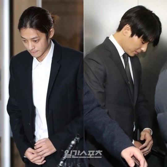 チョン・ジュンヨン(左)とチェ・ジョンフン[写真 韓国日刊スポーツ]
