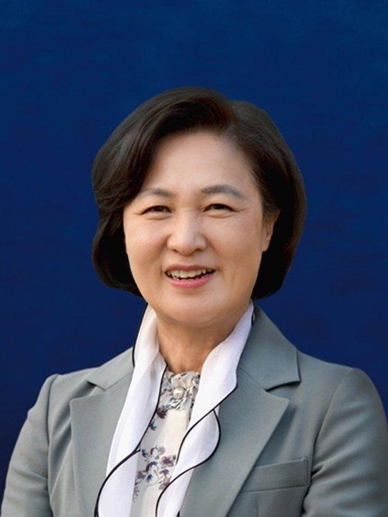 共に民主党の秋美愛(チュ・ミエ)議員
