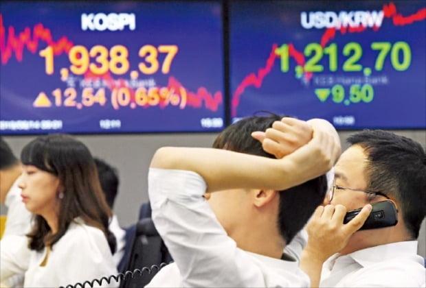 企業利益が急減する中で小さな対外変数にも韓国株式市場は急騰落を繰り返す現象が表れている。韓経DB