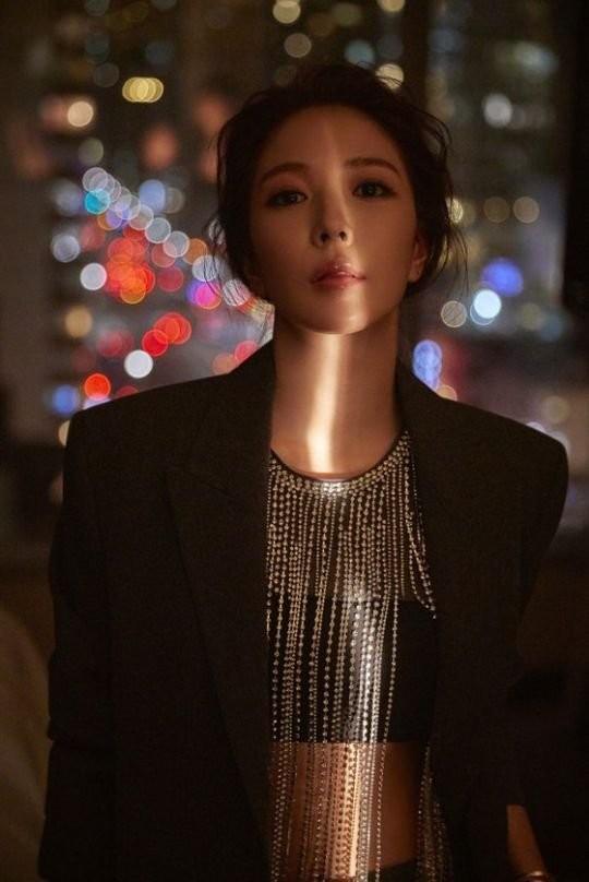 歌手BoAの2ndミニアルバム『Starry Night』のワンシーン