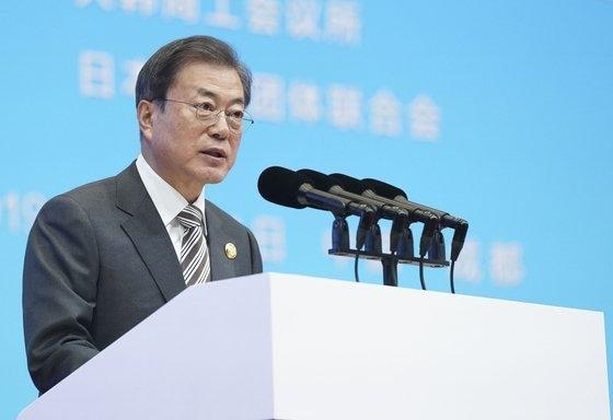 韓国の文在寅大統領