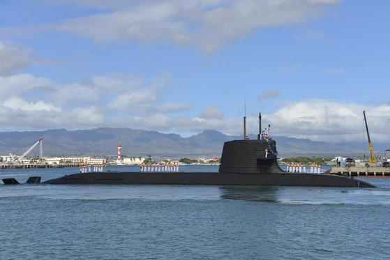 日本のそうりゅう型潜水艦 [写真=米海軍]
