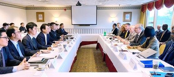 14日(現地時間)、米ワシントンで韓米防衛費分担特別協定締結のための6回目の会議が開かれた。[写真 外交部提供]