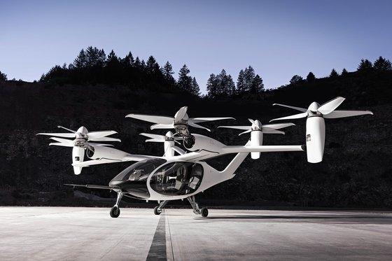 トヨタが投資を決めたeVTOLスタートアップのジョビー・アビエーションが開発中の機体。[写真 ジョビー・アビエーション]