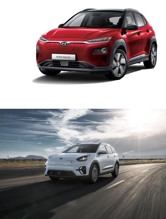 現代自動車グループは昨年、エコカーのラインナップを拡大しながら欧州市場で成長を維持した。写真は現代自動車「KONA(コナ)エレクトリック」。[写真上尾 現代自動車]、起亜自動車の純粋電気自動車「NIRO(ニロ)EV」は欧州市場で大きな人気を博した。[写真下 起亜自動車]