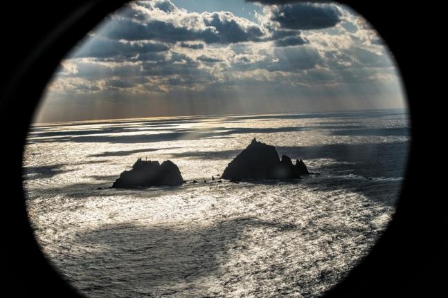独島。キム・ヒョンドン記者