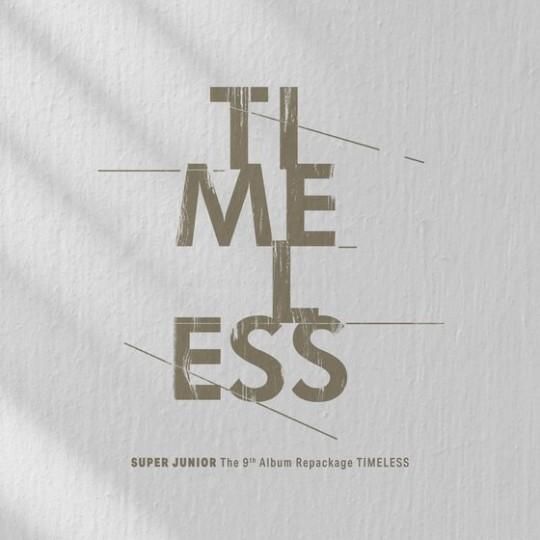 SUPER JUNIORの9thアルバムのリパッケージアルバム『TIMELESS』のジャケット