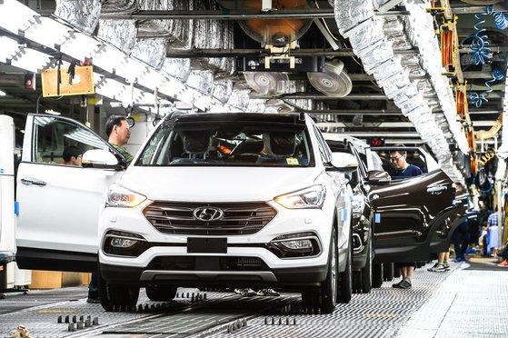 現代自動車蔚山第2工場。[写真 現代自動車]