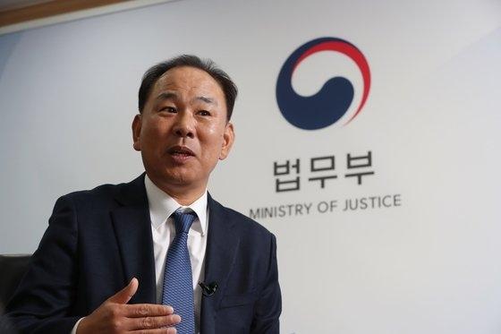 韓国移民財団のキム・ドギュン理事長