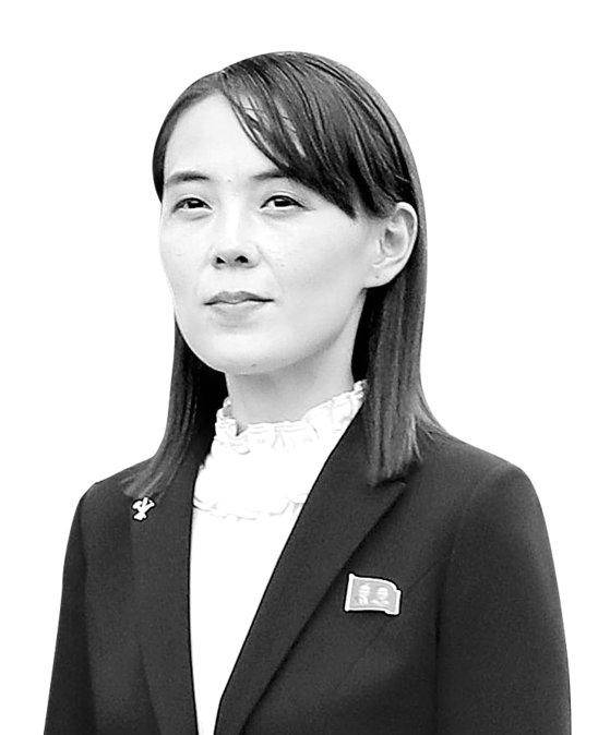 金正恩国務委員長の妹・金与正党第1副部長[中央フォト]
