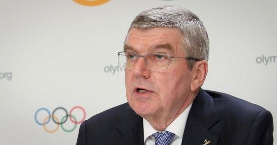 トーマス・バッハIOC委員長が選手代表と会議を開いた後、「全員が東京五輪まではまだ約4カ月残っているに気がついた」と話した。[写真 文化体育観光部]