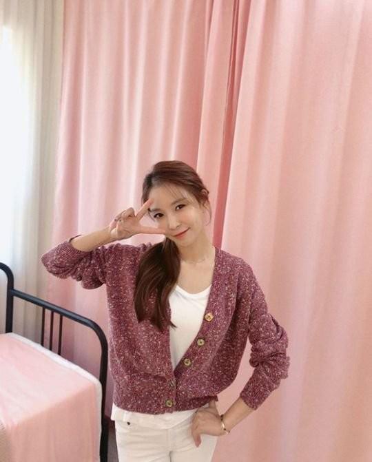 歌手BoA[インスタグラム キャプチャー]