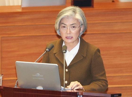 韓国の康京和(カン・ギョンファ)外交部長官
