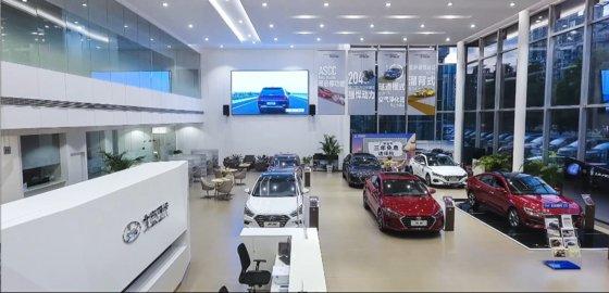現代自動車グループが中国市場での不振から抜け出すため攻撃的マーケティングに入った。写真は北京現代ディーラー展示場。[写真 現代自動車グループ]