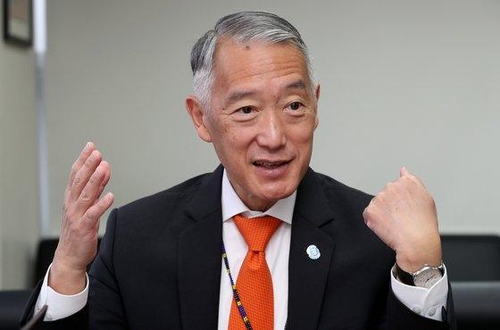 ジェローム・キム国際ワクチン研究所長。チェ・ジョンドン記者