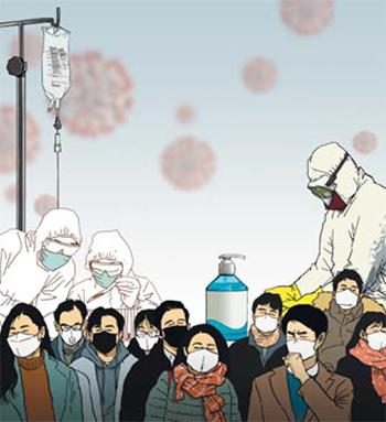 新型コロナウイルス感染症に重大な突然変異が確認され、ワクチン開発に困難が予想されている。