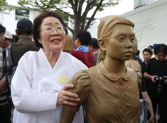 旧日本軍「慰安婦被害者」の李容洙(イ・ヨンス)さん