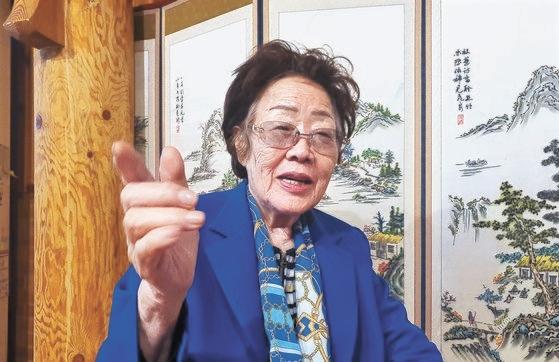 正義記憶連帯が寄付金をおばあさんに使わなかったと透明性問題を提起した日本軍慰安婦被害者の李容洙さんが13日、大邱(テグ)でインタビューに応じた。ムン・サンドク月刊中央記者