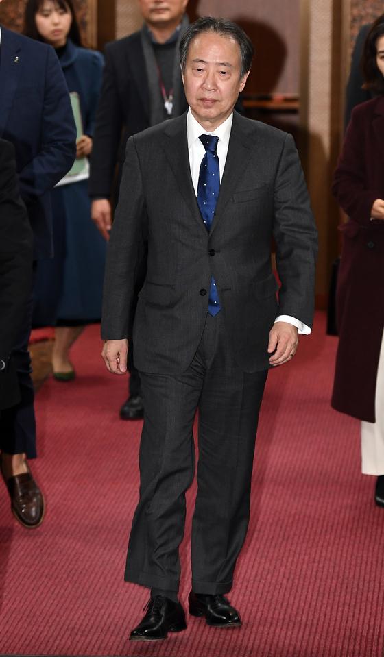富田浩司駐韓日本大使