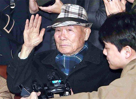 日本製鉄強制徴用被害者のイ・チュンシクさん