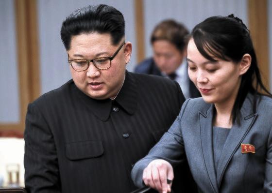 金正恩(キム・ジョンウン)委員長 、金与正(キム・ヨジョン)労働党第1副部長