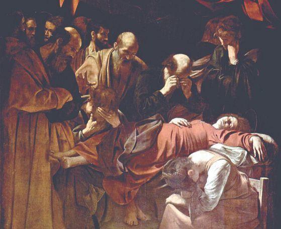 カラヴァッジォの『聖母の死(La Mort de la Vierge)』