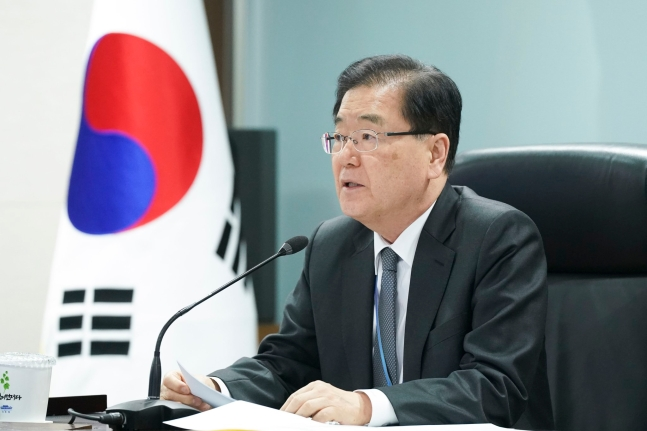 鄭義溶(チョン・ウィヨン)国家安保室長