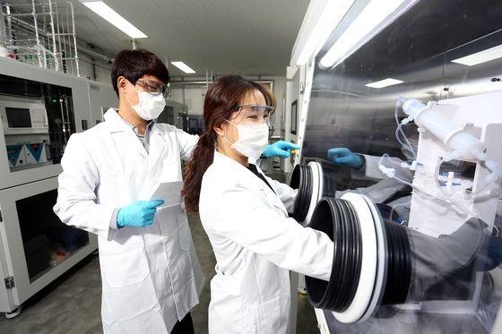 慶尚北道栄州(キョンサンブクド・ヨンジュ)にあるSKマテリアルズの半導体素材統合分析センター。[写真 SKマテリアルズ]