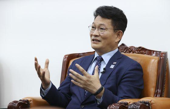 宋永吉(ソン・ヨンギル)共に民主党議員